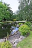 Kyoto gardens Stock Image