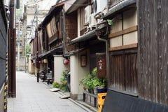 kyoto gata Royaltyfri Fotografi