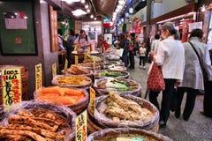 Mercato di Kyoto immagini stock