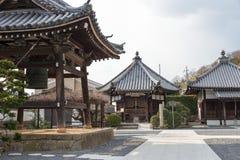 KYOTO, GIAPPONE - 11 gennaio 2015: Tempio di Daizenji (Rokujizo) un famoso Fotografia Stock Libera da Diritti