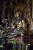 Kyoto, Giappone - 18 maggio 2017: Buddha dorato dentro Chion-in tempio K Fotografie Stock