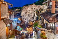 Kyoto Giappone in primavera Immagini Stock