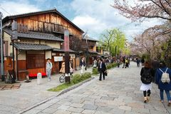 Kyoto Gion Royalty Free Stock Photos