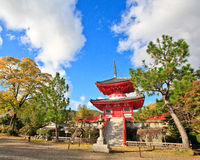 Kyoto Golden Autumn-2 Royalty Free Stock Images