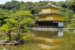 Kyoto golden palace Stock Photos