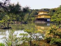 Kyoto-Goldpavillion Tempel Lizenzfreies Stockfoto