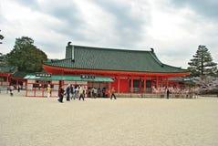 Kyoto Heian relikskrin, Japan Royaltyfri Fotografi