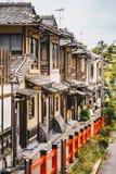Kyoto houses in Higashiyama District, Japan royalty free stock photography