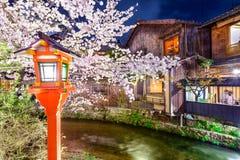 Kyoto i vår Arkivfoton