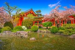 Kyoto i vår Royaltyfri Fotografi