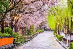 Kyoto i vår Fotografering för Bildbyråer