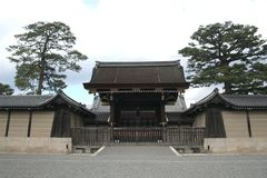 Kyoto Imperial Palace. In Japan Stock Image