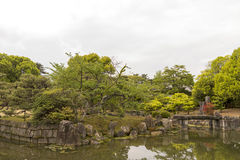 Kyoto imperial palace Royalty Free Stock Images