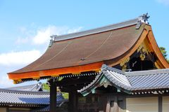 Kyoto Imperial Palace Royalty Free Stock Photo