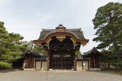 Kyoto Imperial Palace opens to public. Open day of Kyoto Imperial Palace in Kyoto, Japan. It is the former ruling palace of the Emperor of Japan Royalty Free Stock Images