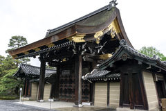 Kyoto imperial palace royalty free stock image
