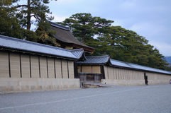Kyoto Imperial Palace Wall Stock Photo