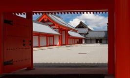 Kyoto imperialistisk slott Royaltyfria Foton