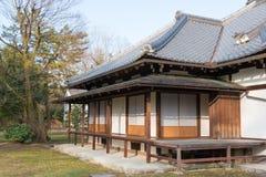 KYOTO, JAPÓN - 11 de enero de 2015: Kan-en-ningún-miya sitio de la residencia de Kyo Imagen de archivo