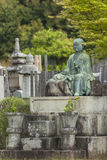 KYOTO, JAPÓN - 1 DE MAYO: Cementerio de Higashi Otani el 1 de mayo de 2014 yo Foto de archivo libre de regalías