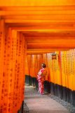 Kyoto, the ancient capital of the country stock image
