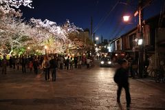 Kyoto night Royalty Free Stock Photography