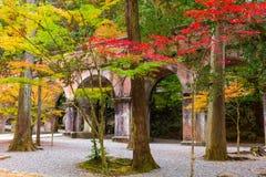 Kyoto Japan Autumn Aqueduct Stock Photography