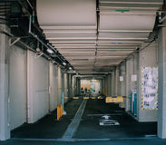 KYOTO, Japan - December 15 2015: Undefined path to japanese oil. Factory Royalty Free Stock Photos