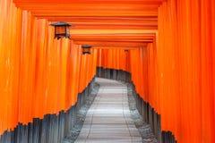 Kyoto, Japan at Fushimi Inari Royalty Free Stock Photo
