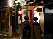 Kyoto Japan Geisha Royalty Free Stock Photography