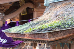KYOTO, JAPAN - 11 Januari 2015: Munakataheiligdom van Kyoto Gyoen Garde royalty-vrije stock foto's