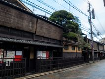 Gion Old Street royalty free stock images