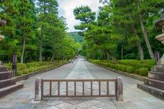 KYOTO, JAPAN - JULY 05, 2017: Beautiful view of the park in Yasaka Pagoda Gion Higashiyama District, Kyoto.  Stock Photos