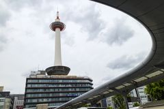 Kyoto - Japan : Kyoto Tower stock photography