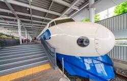 KYOTO JAPAN - MAJ 30, 2016: Shinkansen drev inre järnväg Mus Royaltyfria Bilder