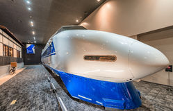 KYOTO, JAPAN - MAY 30, 2016: Shinkansen train inside Railway Mus Royalty Free Stock Photos