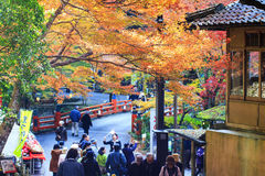 Kyoto, JAPAN - Nov 16, 2013: A Pavilion At Jingo-ji, Japan. Jing Stock Photo
