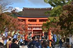 KYOTO, JAPAN - NOV 24: Fushimi Inari Taisha Shrine on November 2 Stock Image