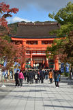 KYOTO, JAPAN - NOV 24: Fushimi Inari Taisha Shrine on November 2 Stock Images