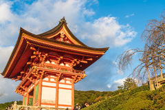 KYOTO, JAPAN - Nov 24, 2016 : Tourist at Kiyomizu-dera Temple in Kyoto Japan. Kiyomizu-dera is an independent Buddhist temple in e. Astern Kyoto. Is part of the Stock Photography