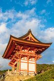 KYOTO, JAPAN - Nov 24, 2016 : Tourist at Kiyomizu-dera Temple in. Kyoto Japan. Kiyomizu-dera is an independent Buddhist temple in eastern Kyoto. Is part of the Royalty Free Stock Photography