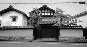Traditional house in Kyoto, Japan Stock Images