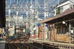 KYOTO JAPAN - NOVEMBER 24: Fushimi Inari Taisha relikskrin på November 2 Royaltyfri Bild