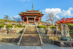 Kyoto, Japan - November 19 2013: Kiyomizu-dera founded in Heian Stock Image