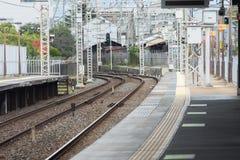 KYOTO, JAPAN - 28. NOVEMBER 2015: Viele Touristen besuchen das Tofukuji Te Lizenzfreies Stockfoto