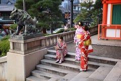 Kyoto kimono Royalty Free Stock Photos