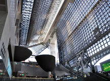 KYOTO, JAPAN - OCT 27: Kyoto Station Stock Photography