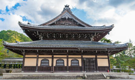 KYOTO, JAPAN - OCTOBER 08, 2015: Nanzen-ji, Zuiryusan Nanzen-ji, formerly Zenrin-ji.  Zen Buddhist shrine temple in Kyoto, Japan. Royalty Free Stock Photo