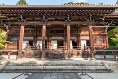 KYOTO, JAPAN - OCTOBER 08, 2015: Old Wooden Shrine in Kyoto, Japan. Stock Photo