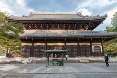 KYOTO, JAPAN - 8. OKTOBER 2015: Nanzen-ji, Zuiryusan Nanzen-ji, früher Zenrin-ji Buddhistischer Tempel des Zen in Kyoto, Japan ka lizenzfreie stockfotografie